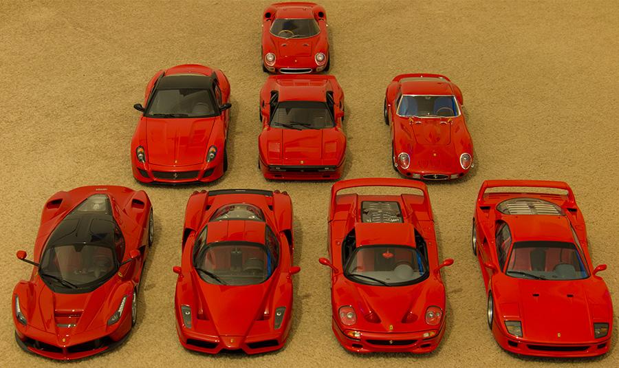 The 8 Ferrari Hyper Cars Ferrari Diecastxchange Com